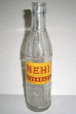 Vintage NEHI Beverages 7 oz. Glass Bottle - Bluefield, VA
