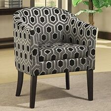 Coaster Home Furnishings 900435 Transitional Accent Chair, Grey NEW
