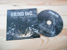 CD Metal Grind Inc. - Lynch And Dissect (9 Song) Promo BASTARDIZED REC