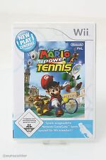 Nintendo Mario Power Tennis - New Play Control! - Nintendop Wii Spiel Game USK 0
