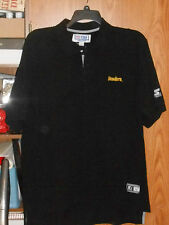 VINTAGE STARTER PRO LINE PITTSBURGH STEELERS POLO SHIRT ADULT LARGE