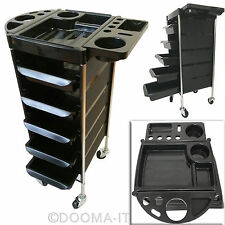 Salon Hairdresser 5 Drawer Beauty Spa Coloring Hair 6Tier Rolling Storge Trolley