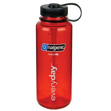 Nalgene Tritan Wide Mouth Water Bottle - 32 oz. - Red/Black