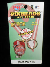 MARK McGWIRE Collectible Pinheads1999 1st Edition Key Chain MLB St. Louis
