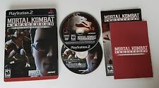 Mortal Kombat: Armageddon - Premium Edition COMPLETE CIB Sony PlayStation 2 PS2