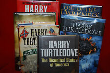 Lot Of 6 Harry Turtledove 1st Edition Hardcover Books Free Shipping