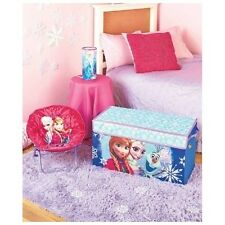Disney's Frozen Bedroom Elsa & Anna Collection Saucer Chair Trunk Cylinder Lamp