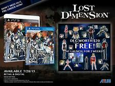 Lost Dimension PlayStation 3