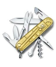 1.3703.T88 VICTORINOX SWISS ARMY POCKET KNIFE CLIMBER GOLD GOLDEN LE 2016 NEW