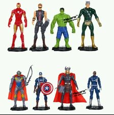 Avengers Age of Ultron PVC Action Figures Toys 8pcs/set Iron Man Hulk Thor