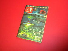 TV GUIDE magazine 1978 June 10-16 UFOs ON TV - FLYING IN THE FACE OF LOGIC