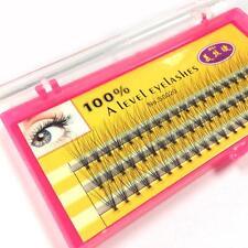 1 caja 10mm Negro Individual Extensión Pestañas Lash Maquillaje