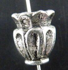 40pcs Tibetan Silver Nice Flower Spacer Beads 13x10mm 5126