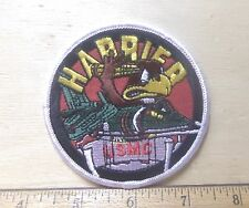 US Marine Corps Harrier Embroidered Patch