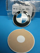 "1 Genuine Wheel Center Cap Emblem BMW OEM# 36131181080 65 mm 2.5"" Adhesive DIY"
