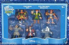 Disney Heroes Set of 6 PVC Figurines a Disney Store Exclusive New MISP