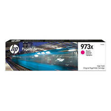 Original Pagewide Pro HP 973X High Capacity Magenta Ink Cartridge (F6T82AE)