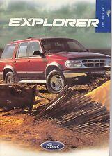 Ford Explorer Folleto-una edición de 1997