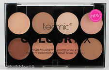 TECHNIC COLOUR FIX CREAM FOUNDATION CONTOUR PALETTE FACE SHAPER SCULPTING MAKEUP