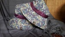 Kangol Split Brim Bucket Hat-Dainty Floral-Medium-NWT