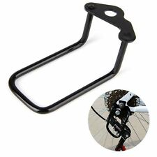 Bicycle Bike Rear Transmission Protector Speed Changer Derailleur Guard Black