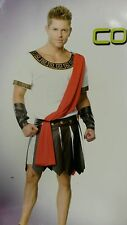 Men's Roman Caesar costume Toga Emperor Costume/party/halloween