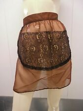 Vintage apron mod 60s lace sexy bombshell lingerie PLAYBOY.MANSION HOLIDAY nwt
