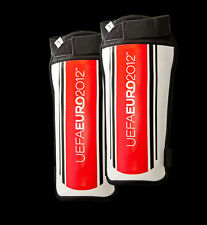 UEFA Euro2012 Set of 2 SHIN PADS... Football Sports Soccer Ball Game Guards BNIP