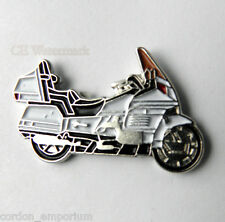 HONDA GL1500 WHITE MOTORCYCLE BIKER LAPEL PIN BADGE 1 INCH