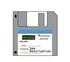 Operating System Startup Disk - Roland S-50 s 50 s50