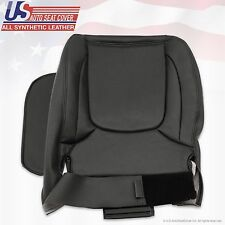 2004 2005 Dodge Ram Laramie Driver Side Bottom Leather Seat Cover Dark Gray