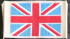 GENUINE DESERT ISSUE BRITISH ARMY, R.MARINES, R.A.F, RN UNION JACK PATCHES - NEW