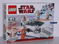 LEGO STAR WARS 8083 Rebel Trooper Hoth Battle Pack 79 Pieces New In The Box Zev