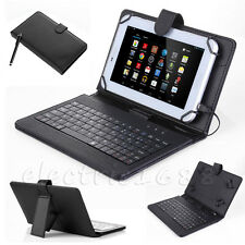 """Case/Cover/Stand with USB Keyboard for NEW 2015 Amazon Fire 7""""inch Kindle Tablet"""