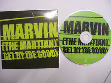 MARVIN THE MARTIAN Get By (Be Good) – 2006 UK CD PROMO Card Sleeve Hip Hop RARE!