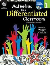 Activities for a Differentiated Classroom - Grade 1