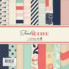 "FancyPants Designs: 6""x6"" paper stack: Trend Setter"