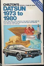 1973 1974 1975 1976 1977 1978 1979 1980 DATSUN 200SX 210 310 510 REPAIR MANUAL
