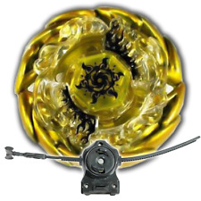 Beyblade Sol Blaze Solar Sun God Gold With LL2 Launcher and Rip Cord