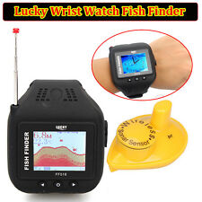 Orologio da polso Fish Finder Wireless Sonar Sensor 150ft Profondità Fishfinder CLOCK MODE