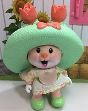 Vintage Tea Bunnies Bunny Me Tea Party Tulip Blossom Peach Rabbit Hat Dress Toy