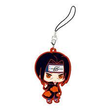 Bandai Naruto Shippuuden Capsule Rubber Mascot Strap P1 Itachi Uchiha うちはイタチ