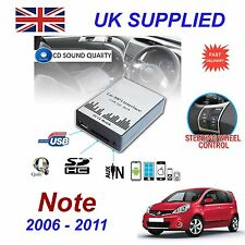 Nissan NOTE MP3 SD USB CD AUX Input Audio Adapter Digital CD Changer Module