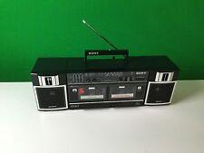 Vintage Retro Sony Model CFS-W365S Stereo Cassette-Corder Boombox Ghettoblaster