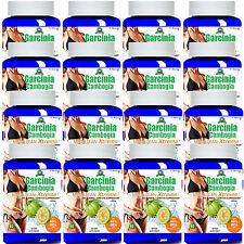 16 Garcinia Cambogia Extract LEAN 1000mg Weight Loss 60% HCA Potassium Calcium