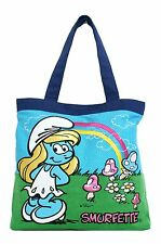 Loungefly The Smurfs Smurfette Rainbow Tote Bag