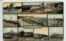(Gi009-373)  Multiview of MORECAMBE   c1910, Used  G-VG