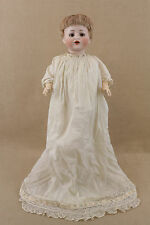 "14"" antique bisque head composition German Bebe Elite Max Handwerck Baby Doll"