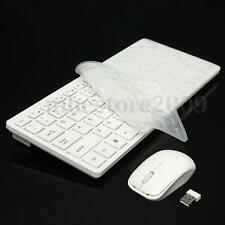 Mini 2.4GHz Optical Desktop Wireless Keyboard and Mouse USB Receiver Kit V7U4
