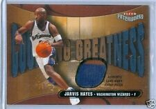 03/04 Fleer Patchworks 2 CL PATCH Jarvis Hayes /150 $30